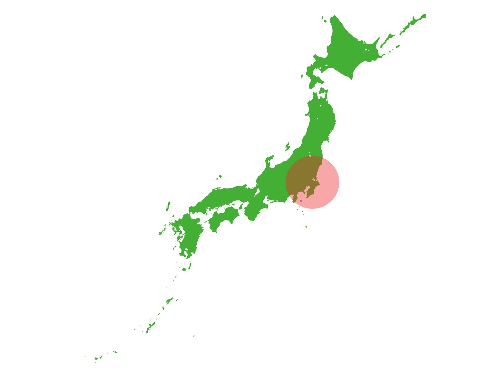 地震予測範囲