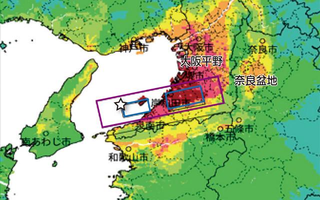 断層型地震