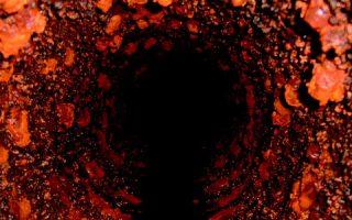 錆付いた水道管