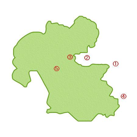 「大分県」の過去の被害地震MAP