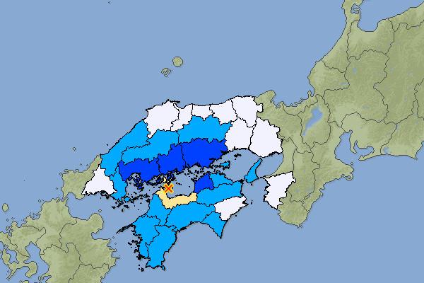 2019.11.26瀬戸内海中部での地震