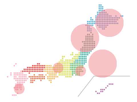 本日(2020年2月21日)の地震活動傾向