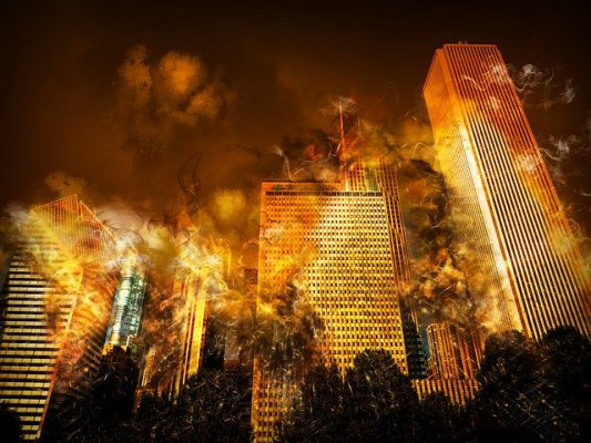 大規模火事による災害(人為的災害・自然災害)