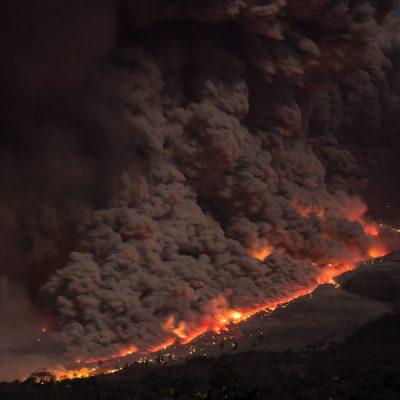 大規模噴火(マグマ噴火)による自然災害