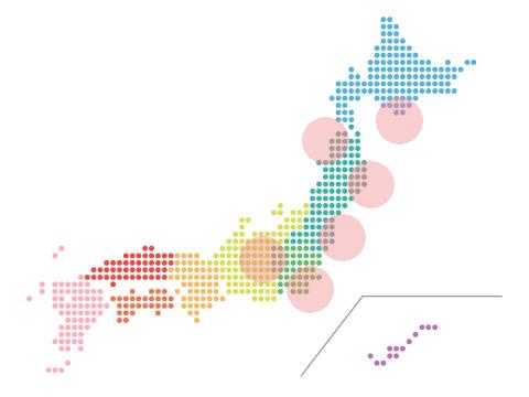 先週末(18日~19日)の地震活動状況