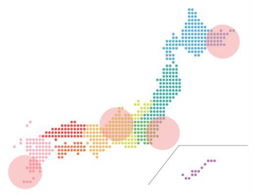 本日(2020年9月17日)の地震活動傾向