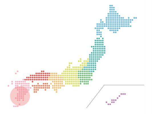 本日(2020年10月8日)の地震活動傾向