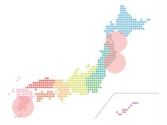 本日(2020年10月9日)の地震活動傾向