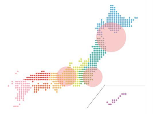 本日(2020年10月19日)の地震活動傾向