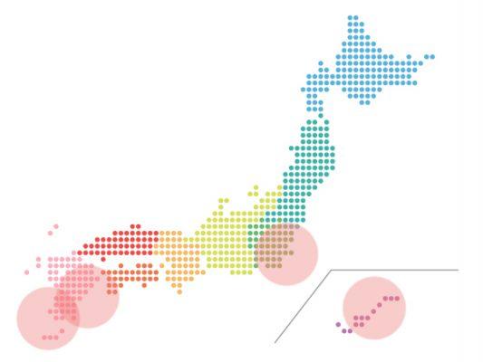 本日(2020年10月22日)の地震活動傾向