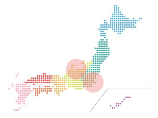 本日(2020年10月29日)の地震活動傾向
