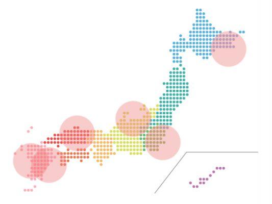 本日(2020年11月9日)の地震活動傾向