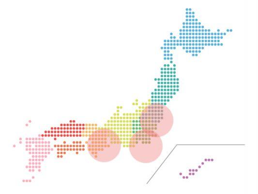 本日(2020年12月24日)の地震活動傾向