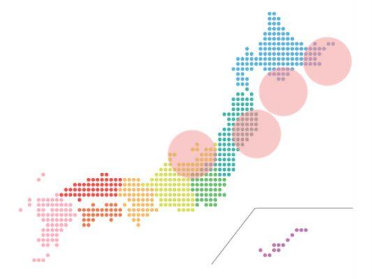 本日(2021年1月22日)の地震活動傾向