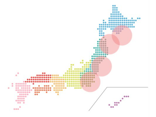 本日(2021年2月12日)の地震活動傾向