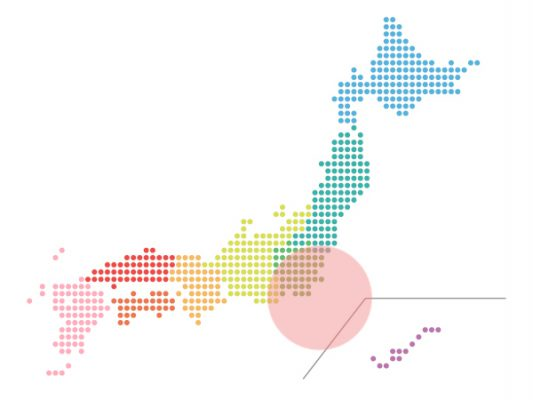 本日(2021年2月22日)の地震活動傾向