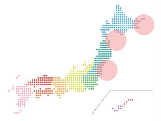 本日(2021年3月12日)の地震活動傾向