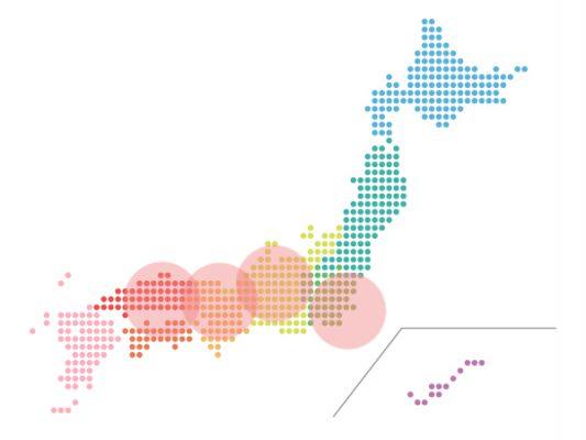 本日(2021年3月23日)の地震活動傾向