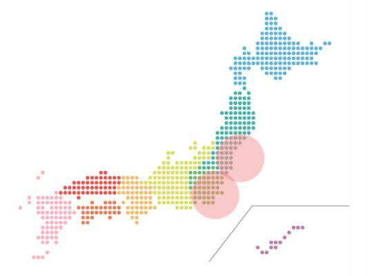 本日(2021年4月5日)の地震活動傾向