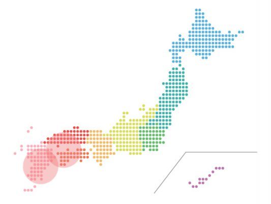 本日(2021年4月9日)の地震活動傾向