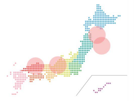 本日(2021年4月19日)の地震活動傾向