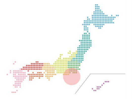 本日(2021年4月23日)の地震活動傾向