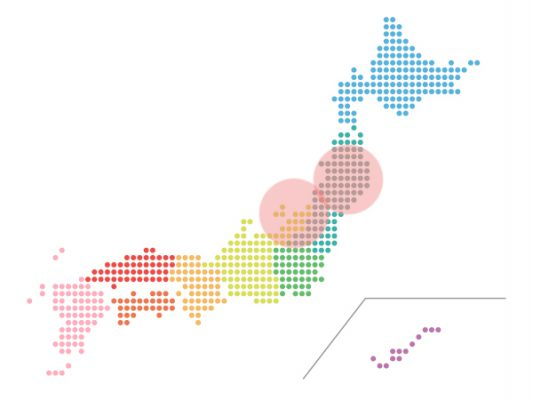 本日(2021年5月13日)の地震活動傾向