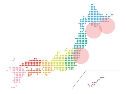 本日(2021年5月19日)の地震活動傾向