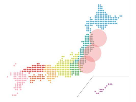本日(2021年5月20日)の地震活動傾向