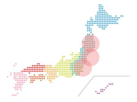 本日(2021年5月24日)の地震活動傾向