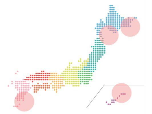 本日(2021年7月6日)の地震活動傾向