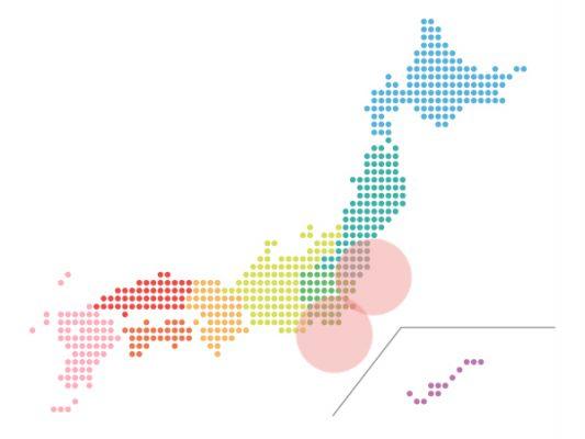 本日(2021年8月20日)の地震活動傾向