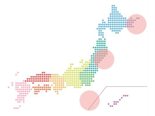 本日(2021年8月24日)の地震活動傾向