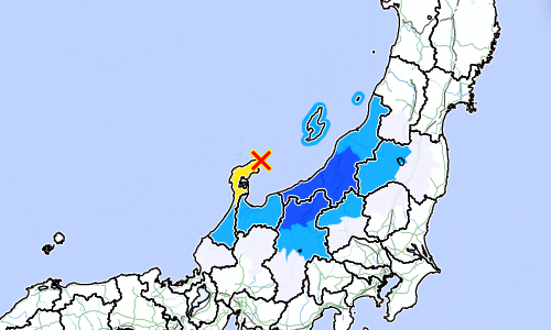 9月16日  石川県能登地方 M5.2