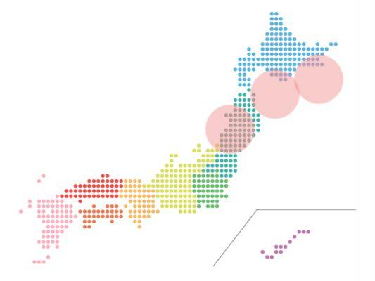 本日(2021年9月3日)の地震活動傾向