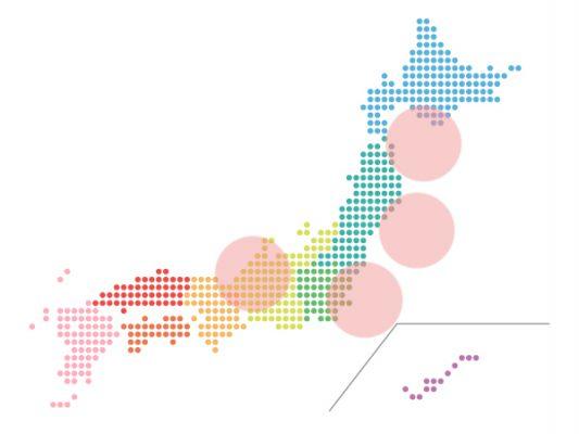 本日(2021年9月6日)の地震活動傾向