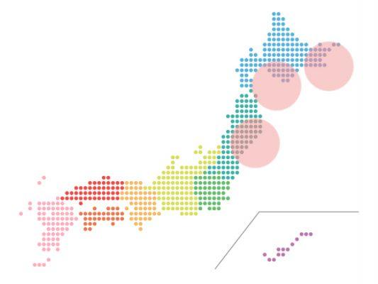 本日(2021年9月8日)の地震活動傾向