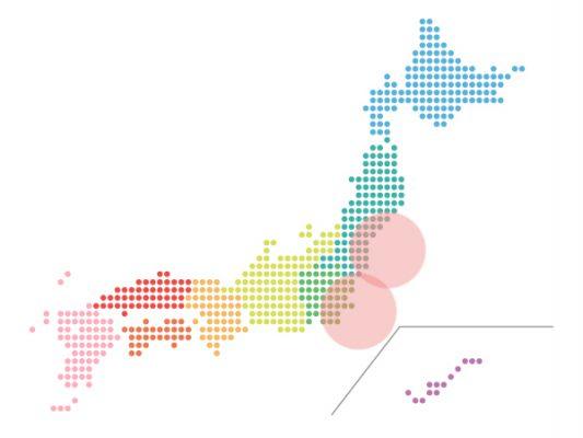 本日(2021年9月15日)の地震活動傾向