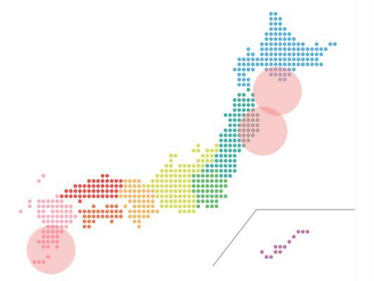 本日(2021年10月1日)の地震活動傾向