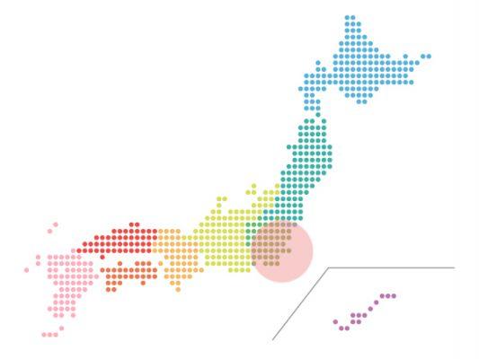 本日(2021年10月13日)の地震活動傾向